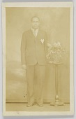 view Photographic postcard of a man digital asset number 1