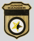 view Pinback button for the National Underground Railroad Junior Rangers digital asset number 1