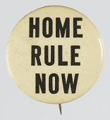 view Pinback button advocating for Home Rule digital asset number 1