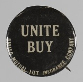 view Pinback button for United Mutual Life Insurance Company digital asset number 1