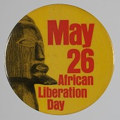 view Pinback button for African Liberation Day digital asset number 1