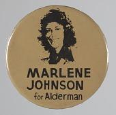 view Pinback button for Marlene Johnson digital asset number 1