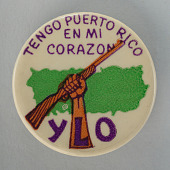 view Pinback button for the Young Lords Organization digital asset number 1