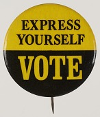 view Pinback buttons for voting rights digital asset number 1