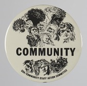 view Pinback button for the CDA Community Staff Action Committee digital asset number 1