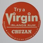 view Pinback button for Virgin Islands rum digital asset number 1