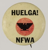 view Pinback buttons for the National Farm Workers Association digital asset number 1