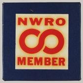 view Pinback button for NWRO membership digital asset number 1