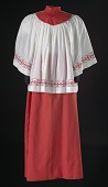 view Acolyte robe from the First African Methodist Episcopal Church of Los Angeles digital asset number 1