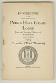 view <I>Proceedings of the Most Worshipful Prince Hall Grand Lodge Free and Accepted Masons of Massachusetts Located at Boston 1904 December (Third Tuesday)</I> digital asset number 1