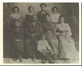 view Photocopy of a portrait of the Cotten family digital asset number 1
