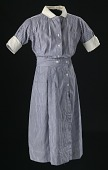 view Nurse's uniform dress worn by Pauline Brown Payne digital asset number 1
