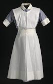 view Nurse's uniform apron worn by Pauline Brown Payne digital asset number 1