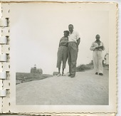 view Digital image of Taylor family members by a lighthouse on Martha's Vineyard digital asset number 1