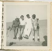 view Digital image of Taylor family members seaside on Martha's Vineyard digital asset number 1