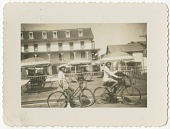 view Digital image of Taylor family women riding bicycles on Martha's Vineyard digital asset number 1