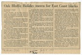 view <I>Oak Bluffs Holiday mecca for East Coast blacks</I> digital asset number 1