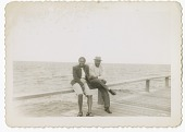 view Digital image of a Taylor family man and woman on a pier at Martha's Vineyard digital asset number 1