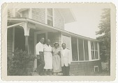 view Digital image of men and women at the Taylor family home on Martha's Vineyard digital asset number 1
