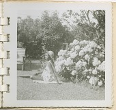 view Digital image of a Taylor family woman posing on Martha's Vineyard digital asset number 1