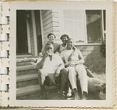 view Digital image of family members at the Taylor family home on Martha's Vineyard digital asset number 1
