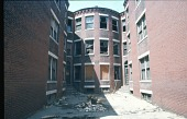 view <I>U shaped apartment building - Boston, Mass. - 1971</I> digital asset number 1
