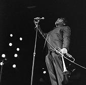 view <I>Dizzy Gillespie - Boston Gardens, Boston, Mass. - 1967</I> digital asset number 1
