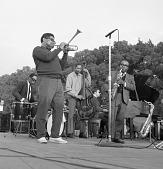 view <I>Dizzy Gillespie & James Moody - Resurrection City. Wash., D.C. - 1968</I> digital asset number 1