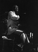 view <I>Ray Charles - Convention Hall, Atlantic City, N.J. - 1980</I> digital asset number 1