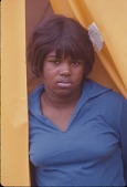 view <I>Woman at tent doorway - Resurrection City, Wash., D.C. - 1968</I> digital asset number 1