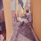 view <I>Woman between tents - Resurrection City, Wash, D.C. - 1968</I> digital asset number 1