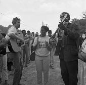 view <I>Rev. Kirkpatrick and friends - Resurrection City, Wash., D.C. - 1968</I> digital asset number 1
