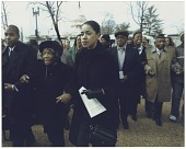 view Digital image of Tulsa Race Massacre survivors in front of United States Capitol digital asset number 1