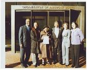 view Digital image of Charles Ogletree Jr., Dr. Olivia Hooker, Otis Clark, and others digital asset number 1