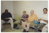 view Digital image of a community meeting on the Tulsa Race Massacre digital asset number 1