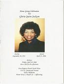 view Funeral program of Gloria Quinn Jackson digital asset number 1
