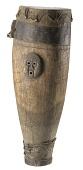 view Wooden drum used on the Sea Islands, South Carolina digital asset number 1