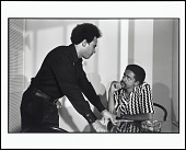 view <I>Huey Newton and Bobby Seale in Huey's Apartment, Oakland, California, 1971</I> digital asset number 1