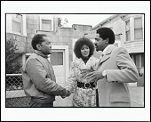 view <I>Bobby Seale Campaigns for Mayor of Oakland and Elaine Brown Campaigns for City Council, Oakland, California, 1972</I> digital asset number 1