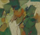 view <I>Untitled (Green Landscape)</I> digital asset number 1
