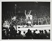 view Photograph of Muhammad Ali and Oscar Bonavena in the ring digital asset number 1