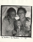 view <I>M. Makeba & H. Masekela</I> digital asset number 1