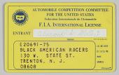 view FIA license for Leonard Miller digital asset number 1