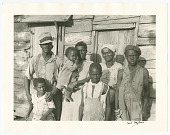 view <I>Rehabilitation client and his family on Lady's Island off Beaufort, SC</I> digital asset number 1