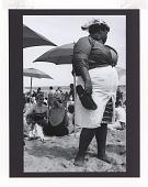 view <I>Woman and Umbrellas, Coney Island</I> digital asset number 1