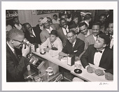 view <I>Black Muslim Leader Malcolm X Photographing Cassius Clay</I> digital asset number 1