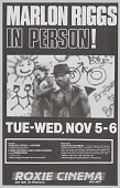 view Poster advertising Marlon Riggs In Person! digital asset number 1