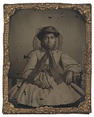 view Ambrotype of an unidentified young woman digital asset number 1
