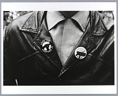 view Photograph of the Young Lords Party and Black Panther Party buttons digital asset number 1