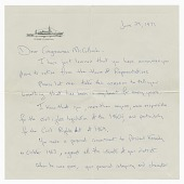 view Letter from Jacquelyn Kennedy Onassis to Congressman William McCulloch digital asset number 1